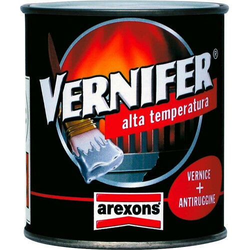 "Vernice con antiruggine in gel AREXONS ""vernifer"" alta temperatura ml.250"