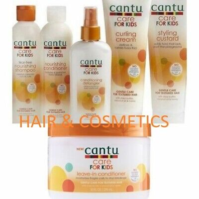 Cantu Care For kids Gentle care for textured Hair (full range)Free UK Postage!!!
