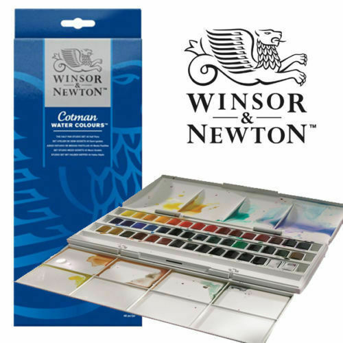 Winsor & Newton Cotman 45 Godet Studio Acquerello Set Acquerelli