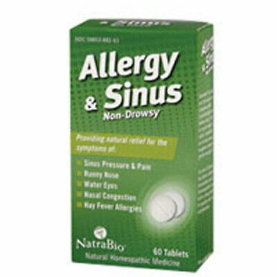 Allergia Sinus 60 Compresse By Natrabio