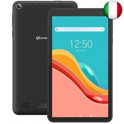 Tablet 7-Pollici Android 9.0 32GB - HAOQIN H7Pro Quad Core HD IPS Dual  (Nero)