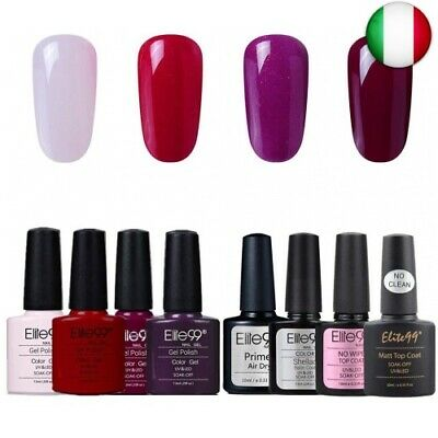 Elite99 Smalto Semipermanente in Gel UV LED, Smalto per Unghie, Base Coat  (003)