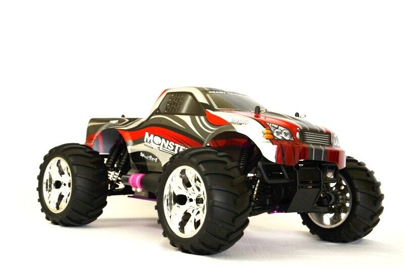 MACCHINA RADIOCOMANDATA Monster Truck 3,0cc A SCOPPIO New Vertex 18 RC 4WD 1:10