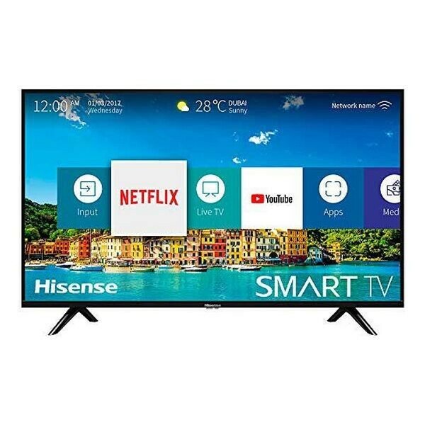 "TV INTELLIGENTE HISENSE 32B5600 32"" HD LED WIFI NOIR"