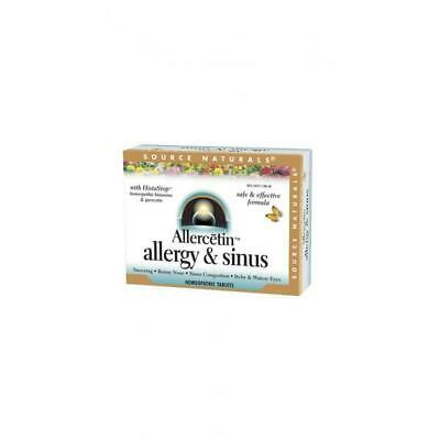 Allercetin Allergia & Sinusite,48 Compresse - Source Naturals