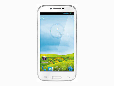 "TREVI PHABLET 5.3Q ANDROID SMARTPHONE QUADCORE,DISPLAY5.3"",DUAL SIM,COLOR BIANCO"