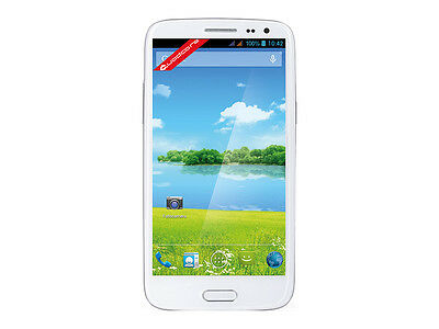 """TREVI PHABLET 5Q SMARTPHONE ANDROID QUADCORE,DISPLAY 5"""",8MPX,COLORE BIANCO"""