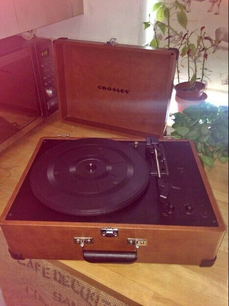 Christmas Gift! USED retro record player with USB adapter
