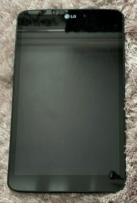 """LG Black G-Pad 8.3"""" V500 16GB Android 5.1.1 Tablet with Computer Lead"""