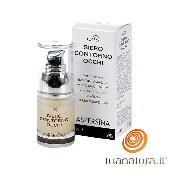 Aspersina Siero Contorno Occhi con Bava di Lumaca 15 ml Pharmalife Research