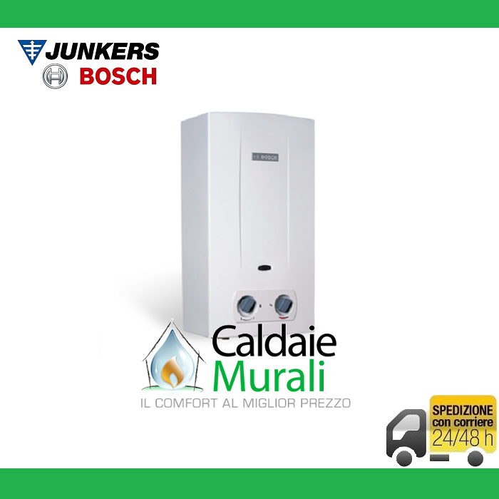 SCALDABAGNO A GAS JUNKERS BOSCH THERM 2200 11 LT MET O GPL COD. T2200 11-23 (31)