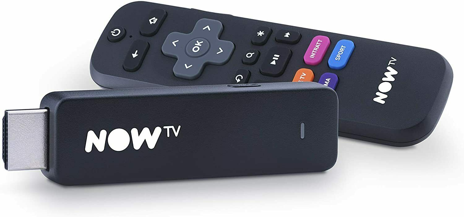Now tv Smart Stick HDMI Sky Netflix Dazn Spotify - No Ticket
