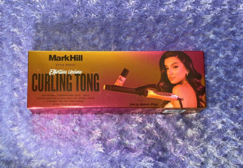 Mark Hill Effortless Undone Curling Iron With Mini Heat Protector Spray