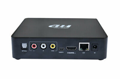Zs- TV CARD PLAYER LETTORE MULTIMEDIALE 1080P HD TV Box Media Player USB Interne
