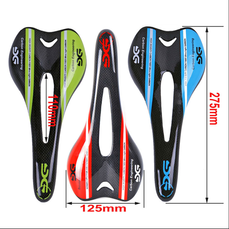 Sella ciclismo da Corsa o MTB in carbonio 3k Sattel/ Saddle cycling full carbon